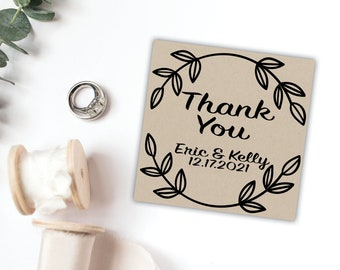 Personalized Wedding Favor Tags, Custom Tags, Personalized message, Rustic Tags
