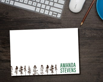 Adventure Awaits Note Cards Personalized with Envelopes