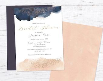Blush Bridal Shower Invitation Invitation