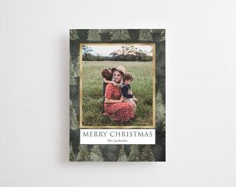 Christmas Photo Card Printed, Christmas Greeting Card, Merry Christmas Card, Holiday card, photo holiday card