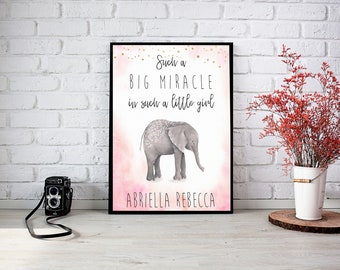 Big Miracle Custom Framed Wall Print