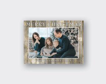 Christmas Photo Card Printed, Christmas Greeting Card Printed, Merry Christmas Card, holiday card, holiday photo cards