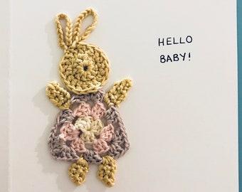 Beautiful Handmade Baby Card
