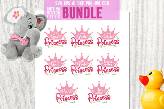 Princess Bundle School Bundle 1st Grade 2nd Grade 3rd Etsy