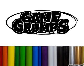 Game Grumps Logo Vinyl Decal Sticker