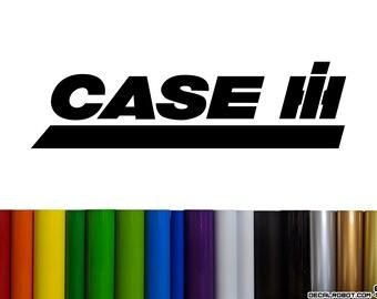 Case IH Vinyl Decal Sticker
