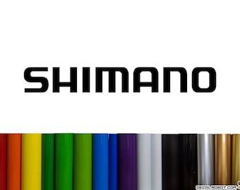 Shimano Vinyl Decal Sticker