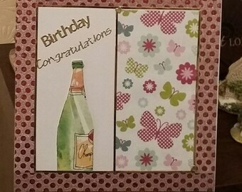 Handmade Birthday Congratulations Card