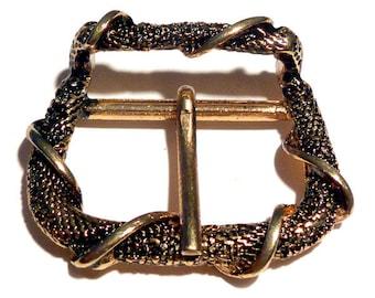 3 pieces DRACHENHAUT SCHNALLE gold plated belt closeted belt buckle belt buckle belt buckle belt buckle belt sliding vintage antique dragon LARP Medieval