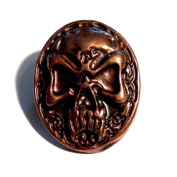 Piraten Schild Manschettenkn/öpfe versilbert Pirat Skull Totenkopf Manschettenkn/öpfe