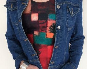 Women's Tank Top, Paul Klee Painting