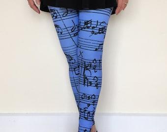 Women's Leggings, Music of Bach