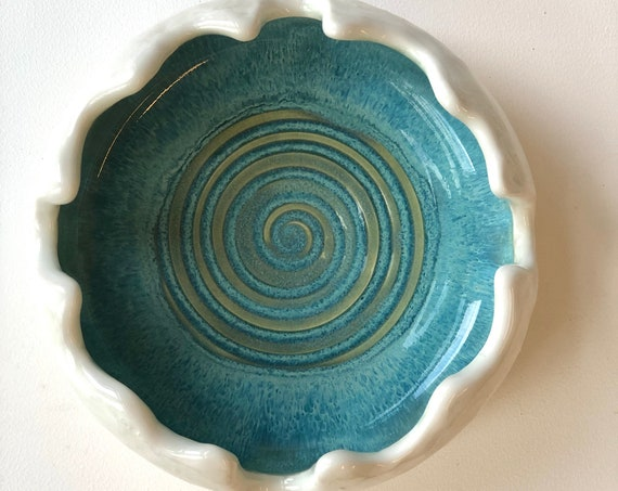 Handmade ceramic ashtray