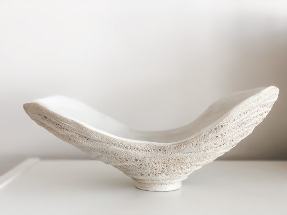 Ceramic sculpture 'Wings'