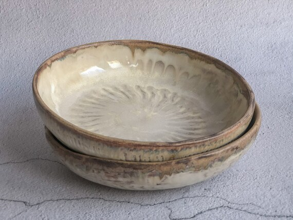 Set of two ceramic bowls