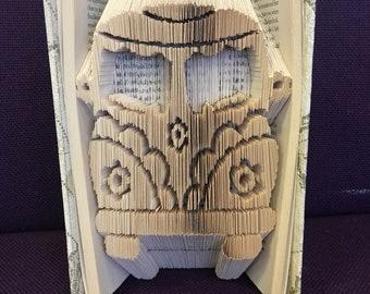 Camper Van Book Art