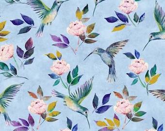 Hummingbird Fabric Etsy