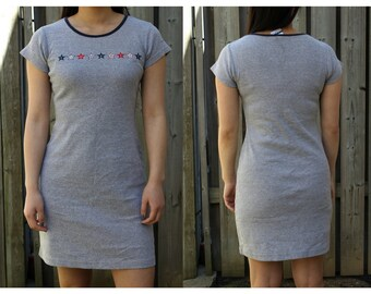 80e8ec251cee Vintage 90s Tommy Hilfiger Tommy Girl t-shirt dress