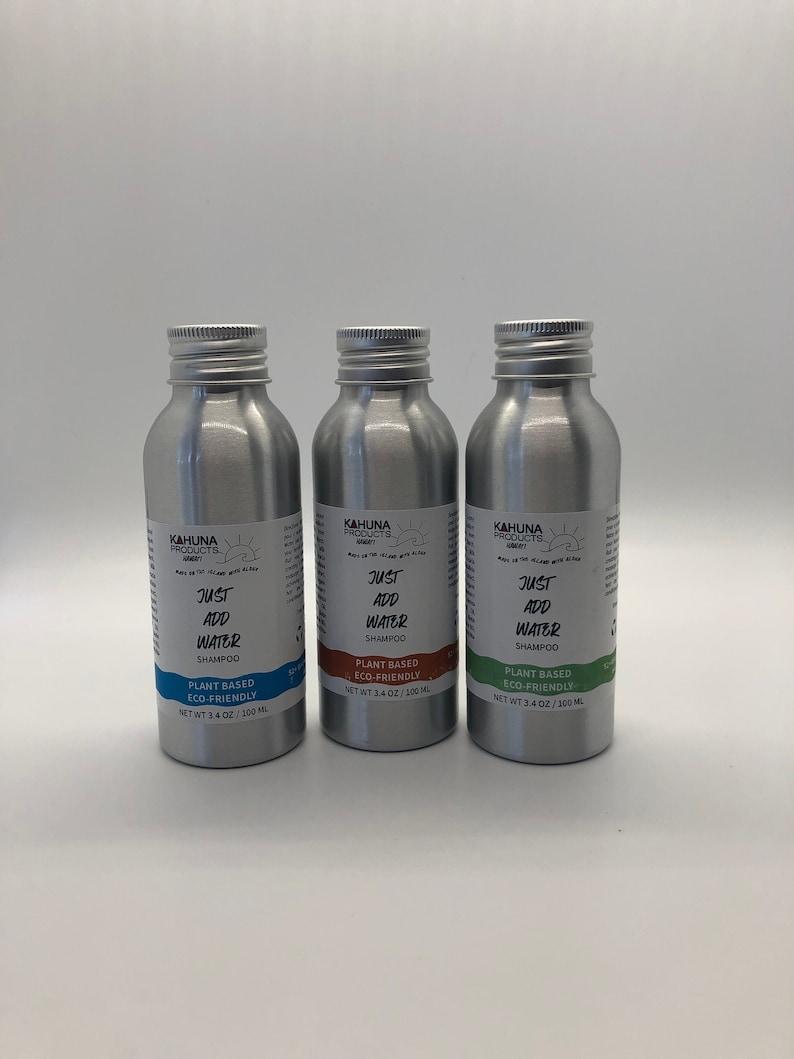 Just Add Water  Shampoo  Plant Based Shampoo  Eco Friendly image 1