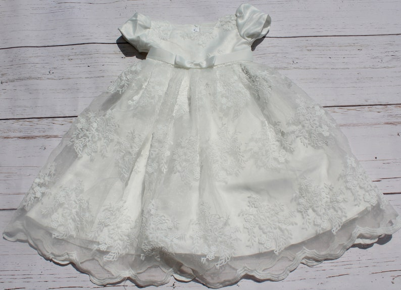 6a76ac433eef Baptism Dress Christening Dress Baptism Gown Christening Gown