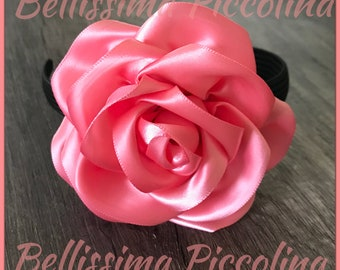 Flower headband, Rose Headband, toddler headband