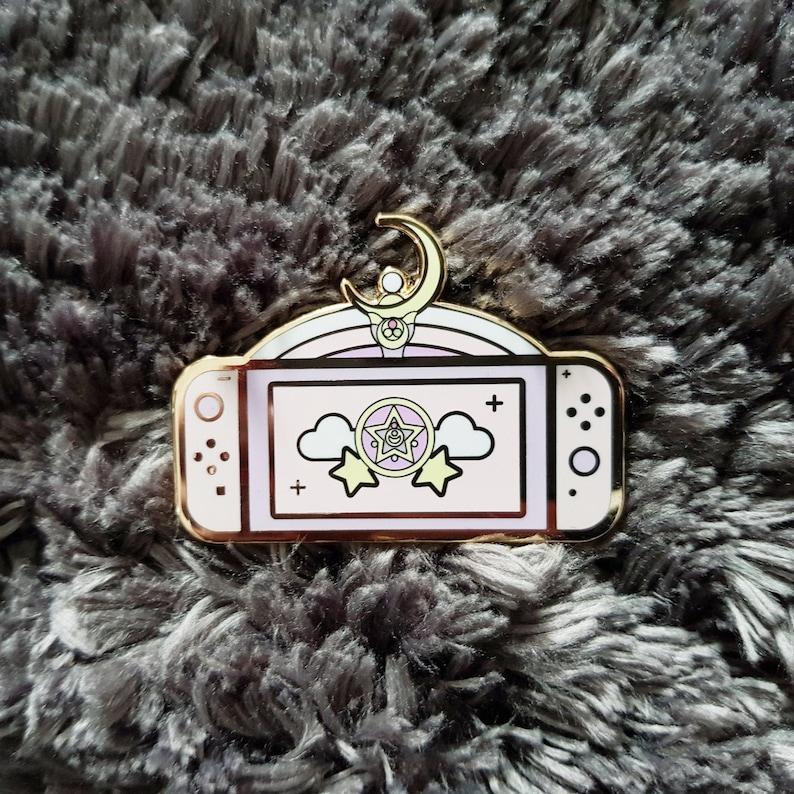 Magical Girl Switch Enamel Pin