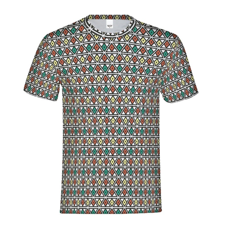men's tee psychedelic chainmail image 0