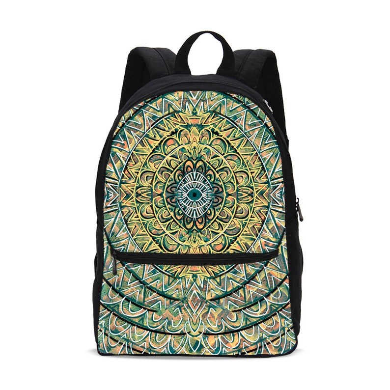 small canvas backpack groovy image 0