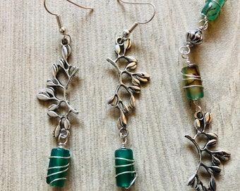 Enchanted Forest Necklace and Earring Set