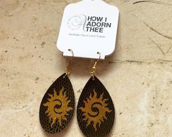 TribalSun2 Earrings