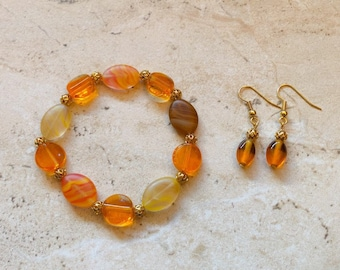 Melody Bracelet and Earring Set