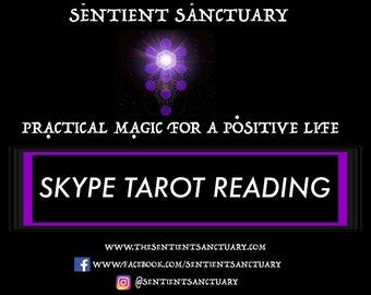 Skype Tarot Reading - 60 minutes.