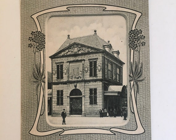 Art nouveau post card: Gouda, Holland