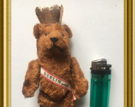 Vintage little teddy bear, Berlin
