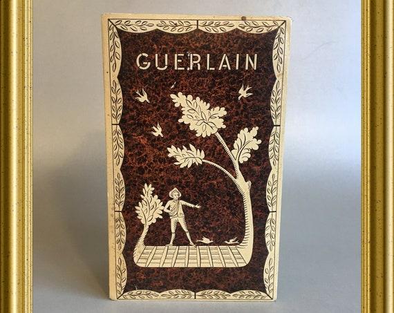 Vintage empty French box for guerlain perfume bottle