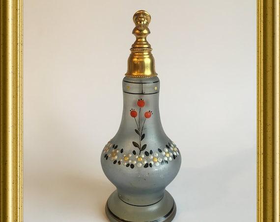 Antique glass perfume bottle