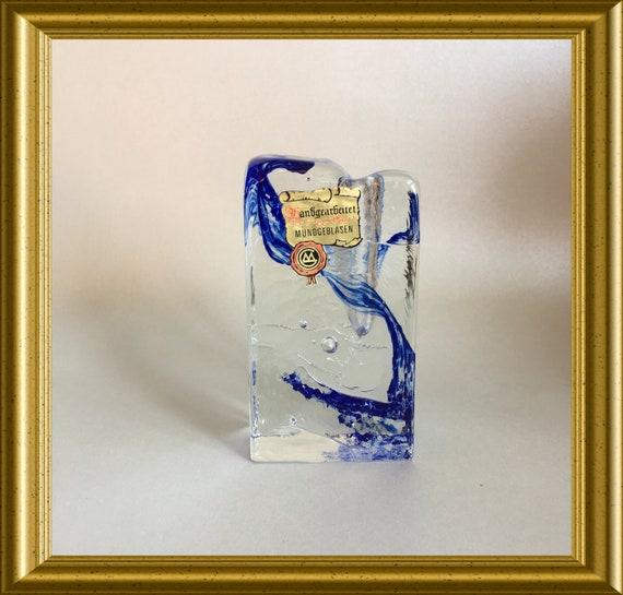 Solifleur vase: Marsberger Glaswerke Ritzenhoff