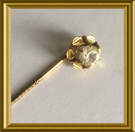14 carat golden (585) tie pin/ lapel pin stick