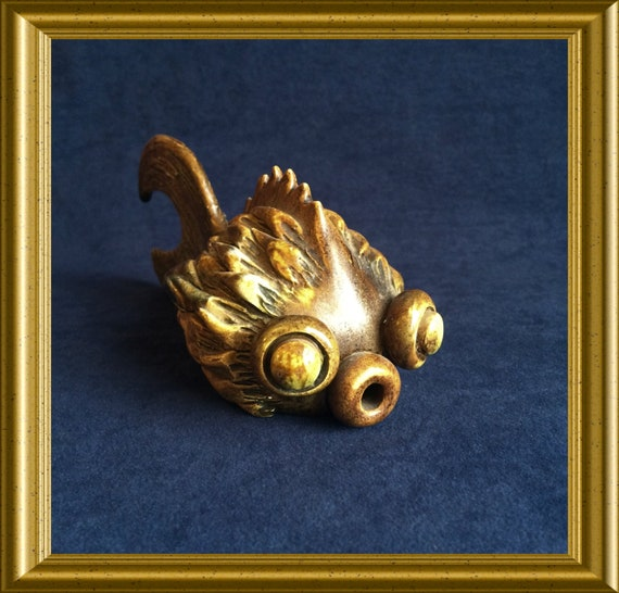 Vintage English figurine : Yare Designs, fish