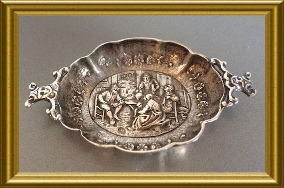 Small silver miniature dish: Hollandia Zutphen, 1926