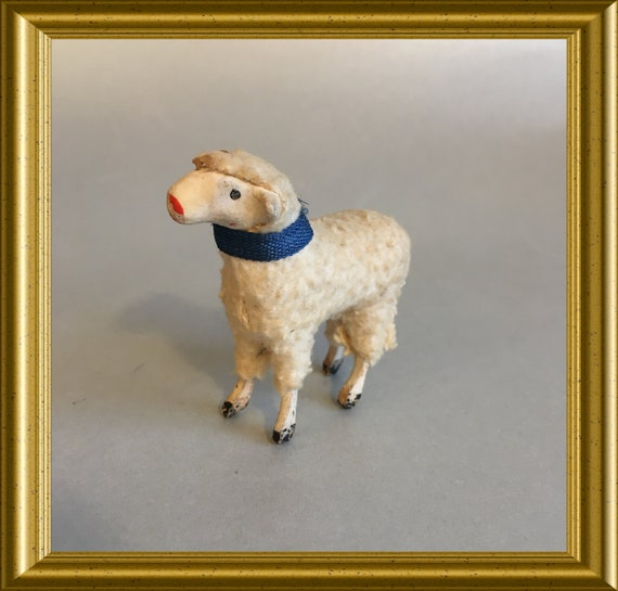 Antique christmas sheep