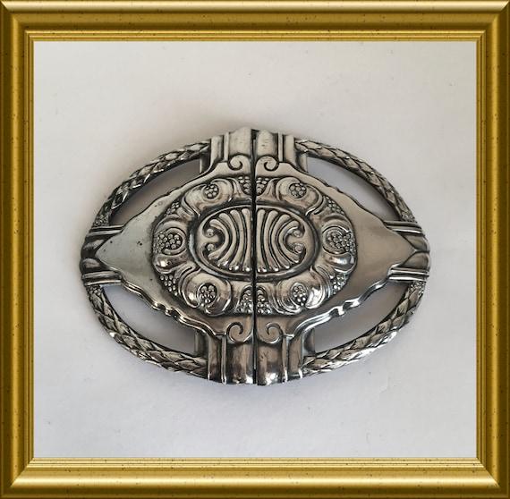 Art nouveau/ jugendstil belt buckle: WMF