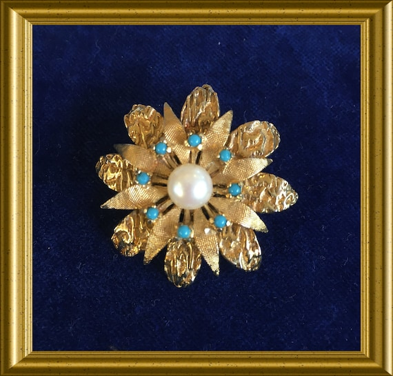 Vintage brooch, costume jewelry