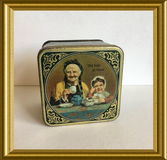 Vintage tea tin : Mazawattee Tea