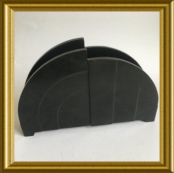 Art deco bakelite letter stand/ napkin holder
