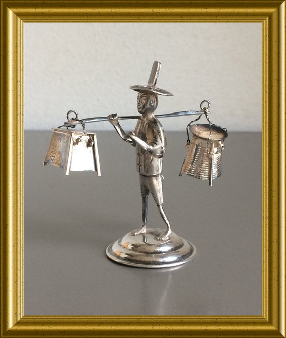 Vintage Chinese silver miniature