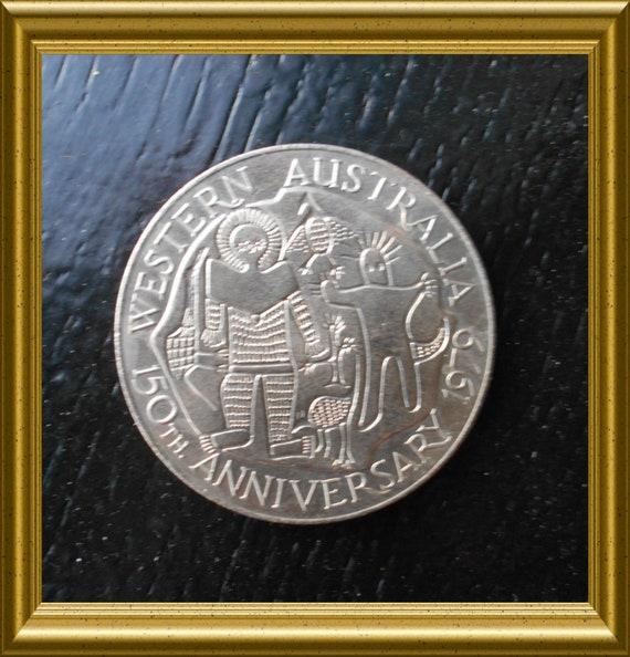 Vintage medal: Swan River Colony, Western Australia, 150th anniversary