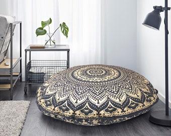 Round floor pillow | Etsy