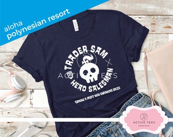 8ac918989 Polynesian Resort Trader Sam, Polynesian Resort, Magic Kingdom, Mens  Disney, Disney Shirts, Disney Resorts, Unisex Shirt, Womens Disney