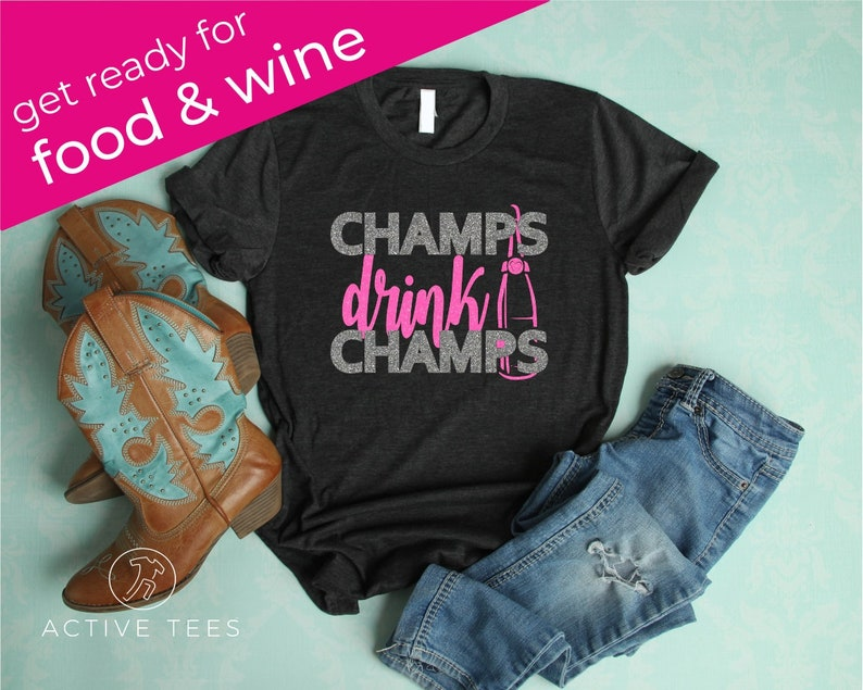 b2eb0b11 Champs Drink Champs Epcot Food and Wine Festival Group | Etsy